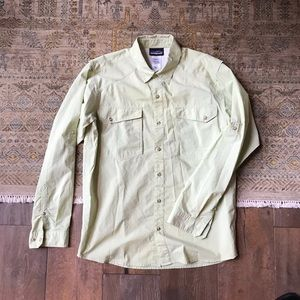 Patagonia Button Down Shirt (Medium, Green)
